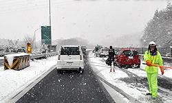 高速道路のタイヤチェーン規制